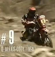 Dakar 2012 : Vidéo, la gamelle de Cody, une vraie