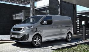 Peugeot dévoile le véhicule utilitaire électrique e-Expert