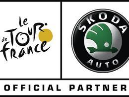 Tour de France: Skoda partenaire jusqu'en 2018