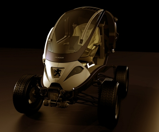 Design : Peugeot Capsule Concept par Alp Germaner