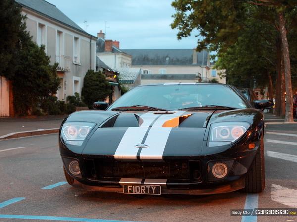Photos du jour : Ford GT  (Le Mans Classic)