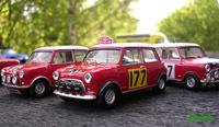 Miniature : 1/43ème - BMC Mini Morris Cooper S