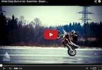 Stepan Maslov: Winter Crazy Stunt on Ice (vidéo)