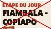 Dakar 2012 : La 6ème étape est annulée