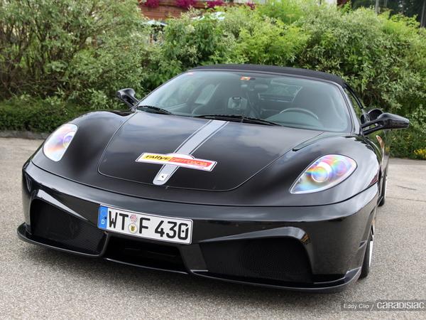 Photos du jour : Ferrari 430 Spider Novitec Rosso (Rallye Germania)