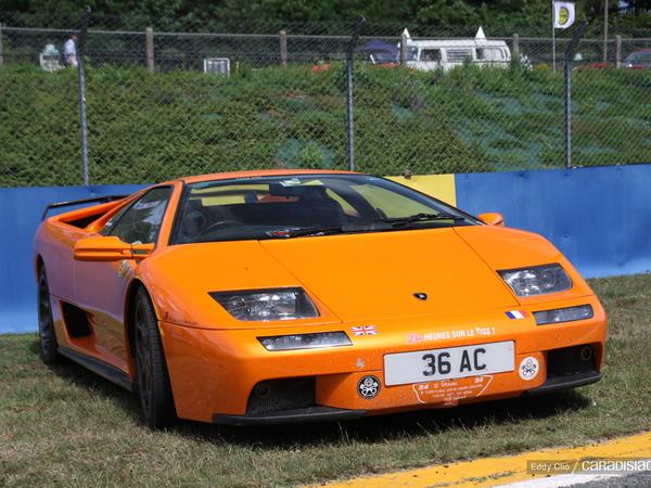 Photos du jour : Lamborghini Diablo VT (Le Mans Classic)