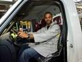 Tony Parker en France pour fêter les 35 ans du Renault Master