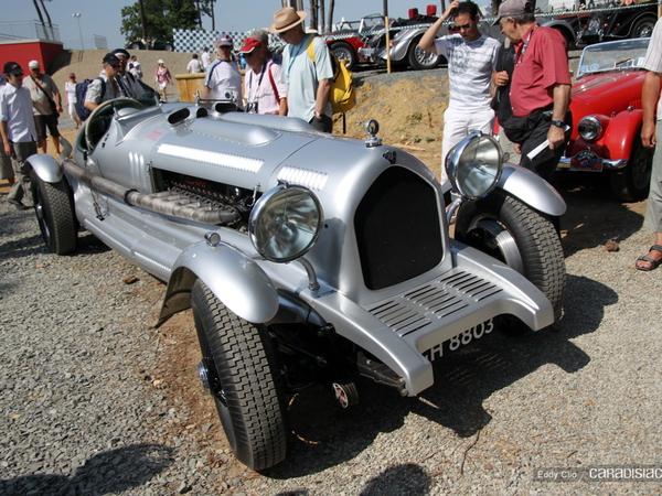 Photos du jour : Rolls Royce Handlye Special (Le Mans Classic)