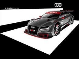 Audi grille la politesse à BMW! Voici l'Audi A5 de DTM