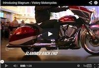 Victory Motorcycles: la Magnum en vidéo