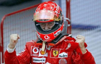 Michael Schumacher remporte le GP d'Europe