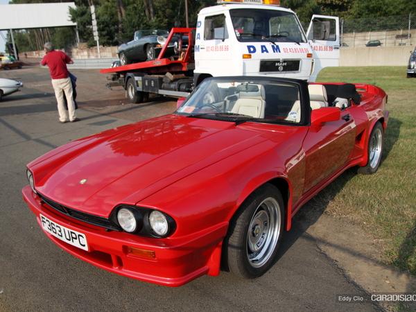 Photos du jour : Lister XJSC (Le Mans Classic)