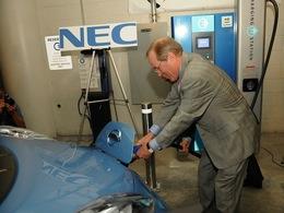La 1ère station de recharge rapide électrique publique mise en service en Amérique du Nord