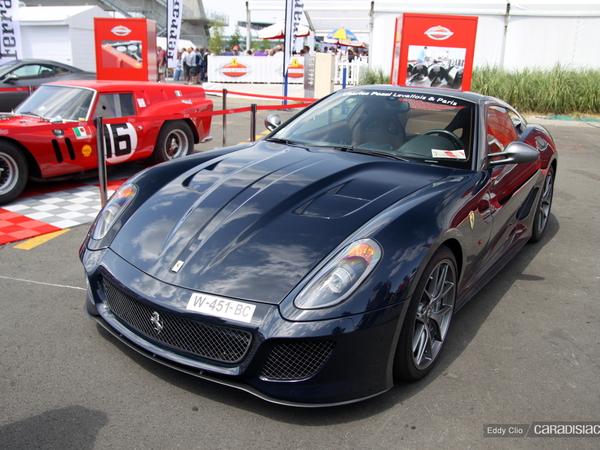 Photos du jour : Ferrari 599 GTO (Le Mans Classic)