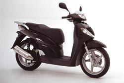 Scooter Honda SH 125 : propre et silencieux