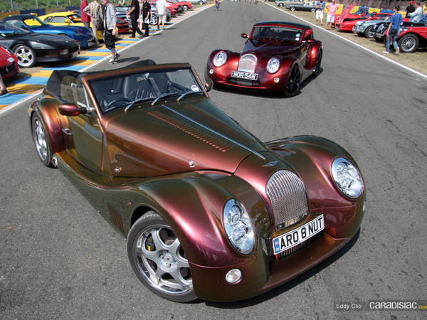 Photos du jour : Morgan Aero 8 (Le Mans Classic)