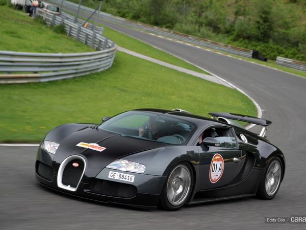 Photos du jour : Bugatti Veyron (Rallye Germania)