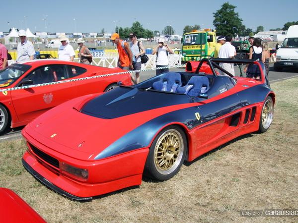Photos du jour : Ferrari 348 Barchetta