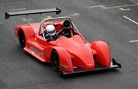 La nouvelle Reynard en piste