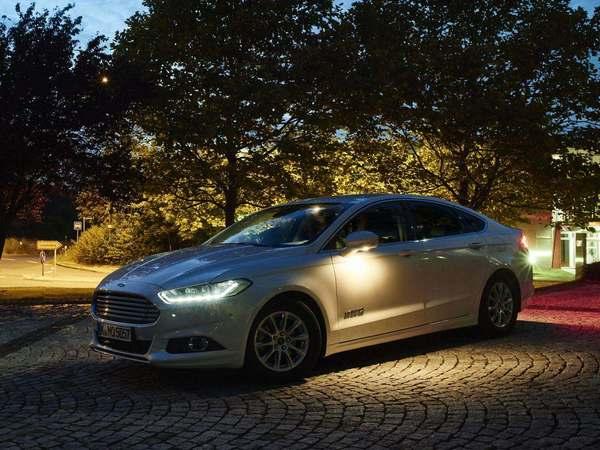 Ford présente un éclairage intelligent