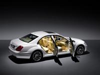 Mercedes Classe S: très légèrement retouchée