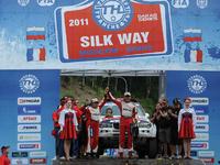 Holowczyc vainqueur du Silk Way Rally