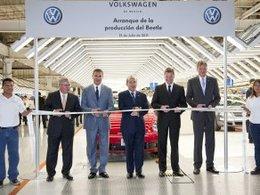 La production de la nouvelle Volkswagen Beetle a débuté