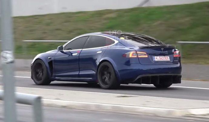 """Tesla : la Model S """"Plaid"""" aura des batteries plus grosses"""