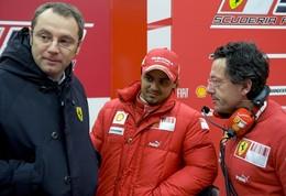 F1 Ferrari : Luca Baldisseri paye le début de saison