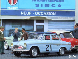 Miniature : 1/43ème - SIMCA Aronde P60 Montlhéry