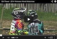 Kawasaki Girl Power 2014 Womens World Motocross en vidéo