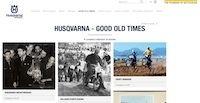 "Husqvarna ""Good Old Times"": un blog sur l'âge d'or de la marque"