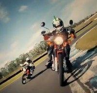 Vidéo moto : une course de  Honda CT110 made in Top Gear
