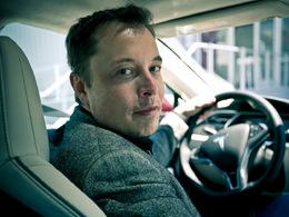 Elon Musk, patron de Tesla, a gagné 1,1 milliard de dollars hier