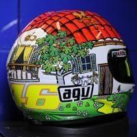 Moto GP - San Marin D.2: Un casque du pays pour Rossi