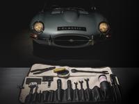 Les outils d'origine de la Jaguar Type E de nouveau disponibles