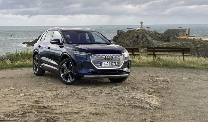 Essai video - Audi Q4 e-tron (2021) : la démocratisation façon premium