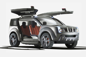 Nissan Zaroot : papillon tout-terrain