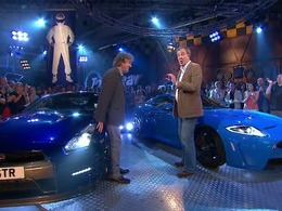 Top Gear : Jaguar XKR-S vs Nissan GT-R, la leçon