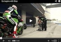 """Kawasaki """"Go begins with stop"""" en vidéo"""