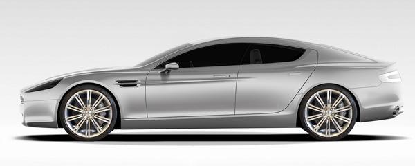 Aston Martin Rapide : nouvelle photo et infos officielles