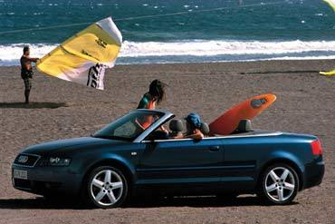 AUDI A4 Cabriolet 2.5 TDI