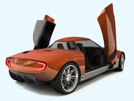 Design : Spyker C69 Concept : originale !