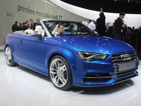 Vidéo en direct de Genève 2014 - Audi S3 Cabriolet, première du nom