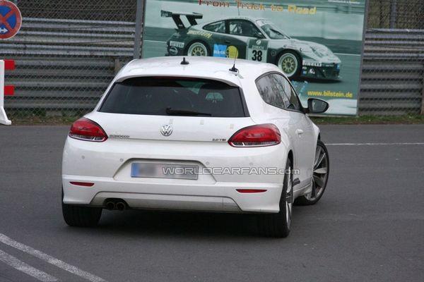 Futures Volkswagen Scirocco R20 et Golf R20: rdv le 21 mai?