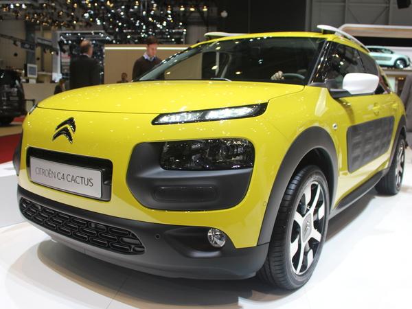 Vidéo en direct de Genève 2014 - Citroën C4 Cactus, à partir de 14.000 €