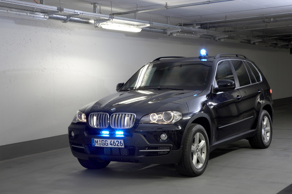 Nouveau BMW X5 Security Plus: pour être bien protégé
