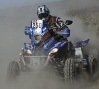 Dakar 2012 : Etape 8 quad , Alejandro Patronelli contrôle