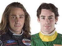 Champ Car: Interview croisée Simon Pagenaud / Nelson Philippe [1/3]