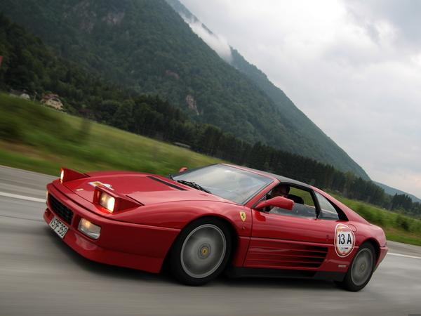 Photos du jour : Ferrari 348 TS (Rallye Germania)